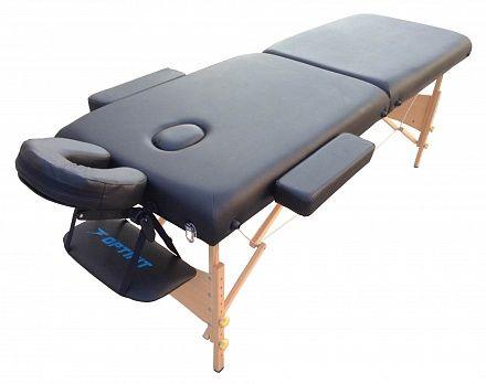 Складной массажный стол Optifit Belleza MT-27 черный
