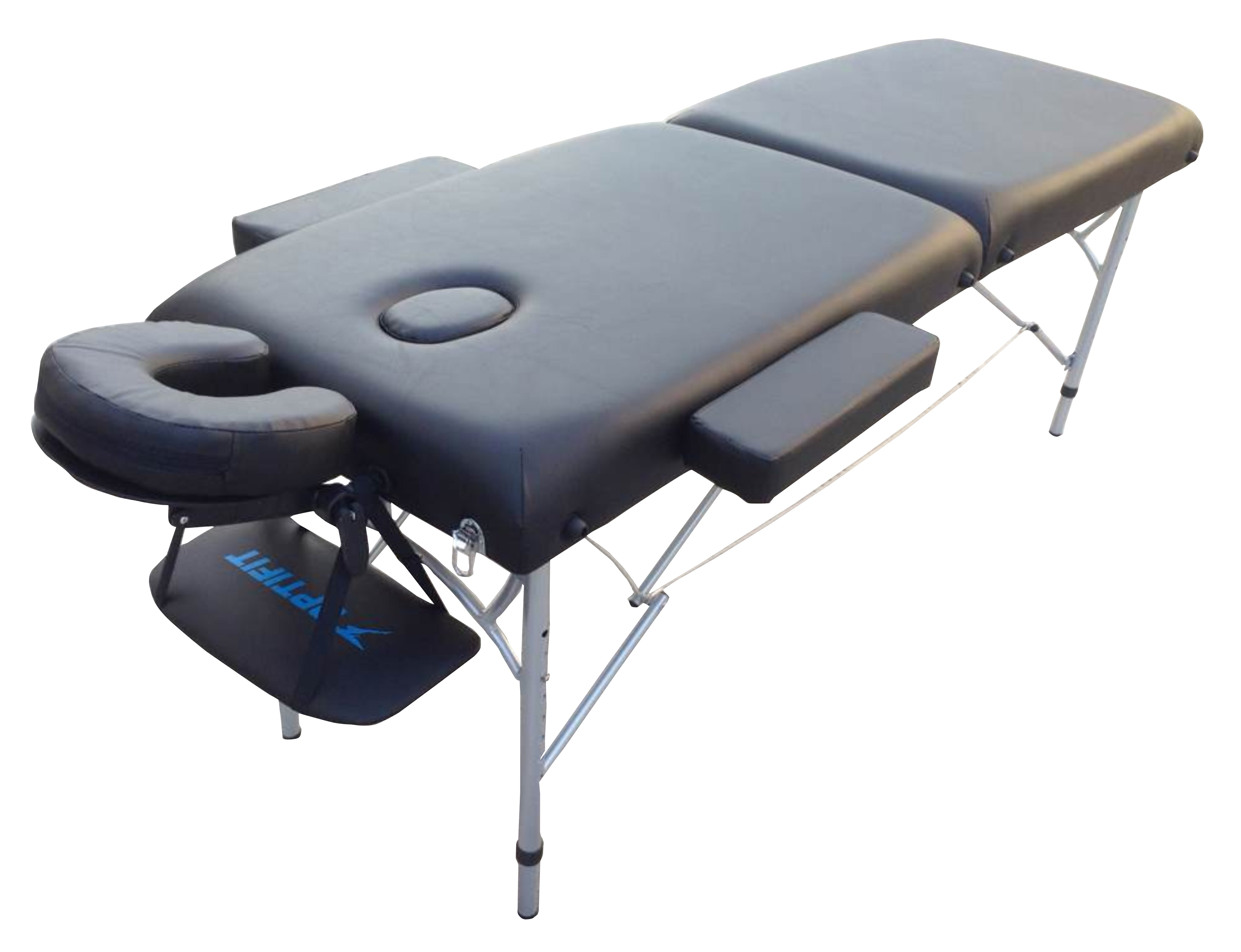 Складной массажный стол OPTIFIT Royal MT-47 черный