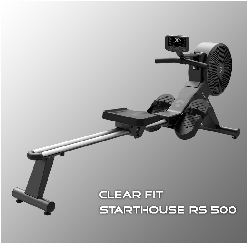 Купить со скидкой Гребной тренажер Clear Fit StartHouse RS 500