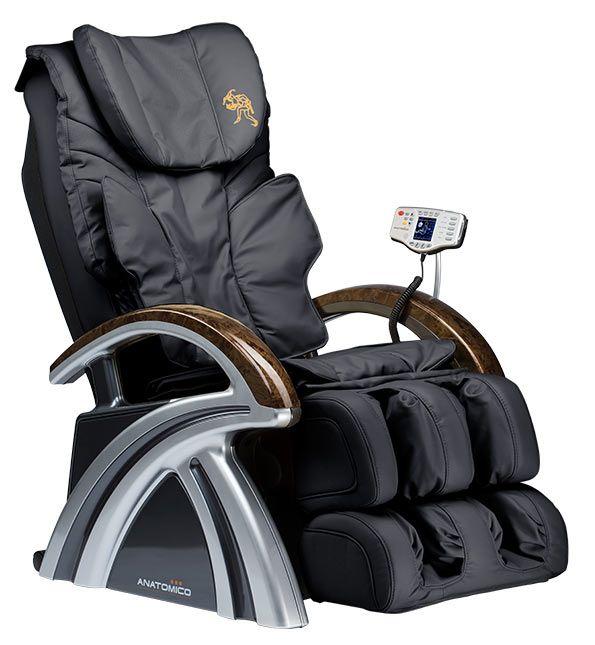 Массажное кресло Anatomico Amerigo Черный