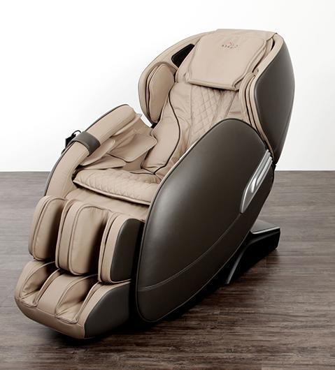 AlphaSonic 2 Бежевый+серый Массажное кресло Casada AlphaSonic 2 Бежевый+серый