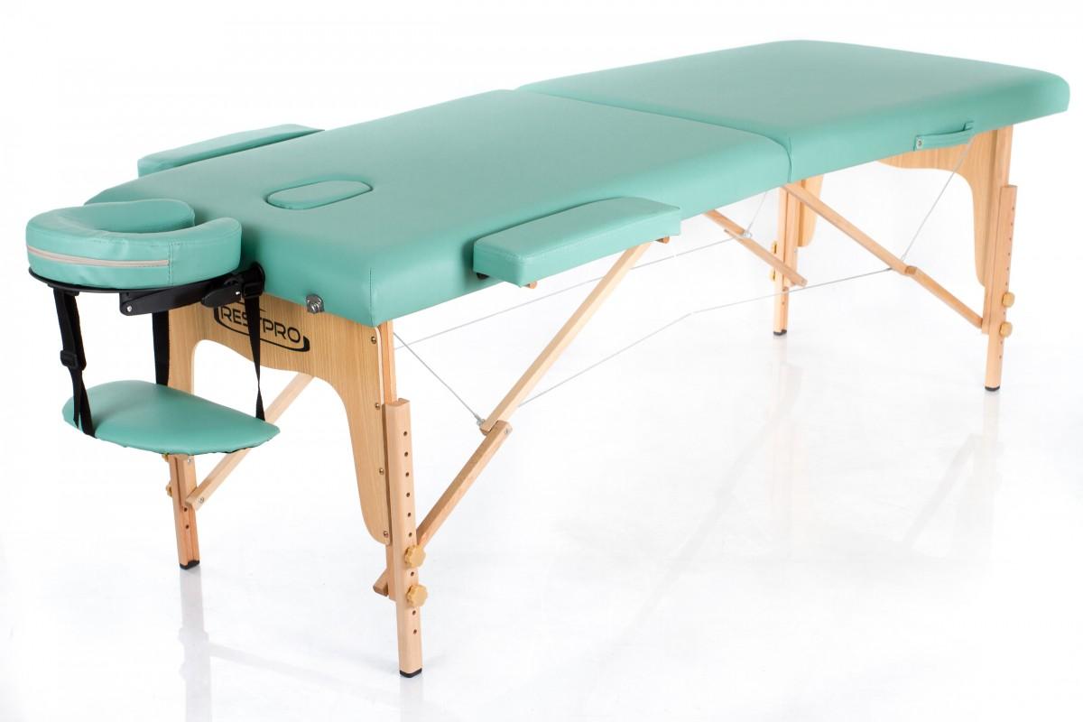 Складной массажный стол RESTPRO Classic 2 Blue green фото