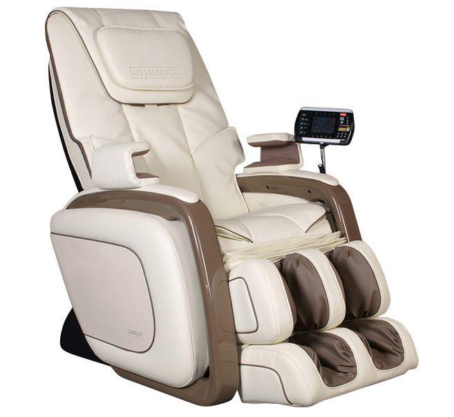 Массажное кресло US Medica Cardio Бежевый