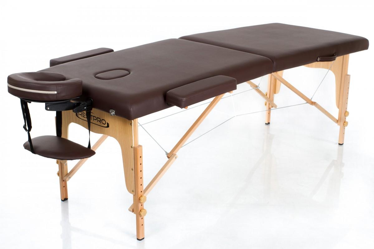 Складной массажный стол RESTPRO Classic 2 Coffee фото
