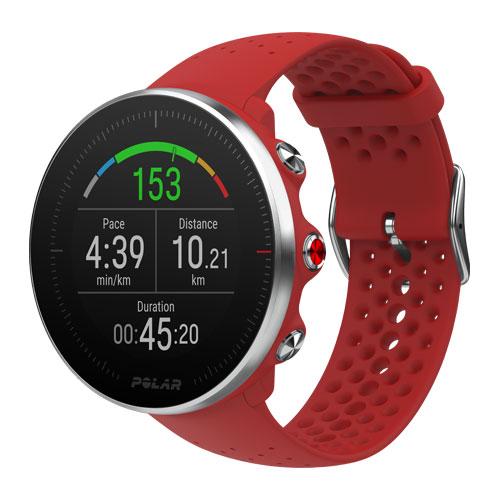 Универсальные спортивные часы POLAR Vantage M красный фото