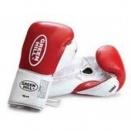 Перчатки боксерские GreenHill PROFFI BGP-2014 16OZ Красный фото