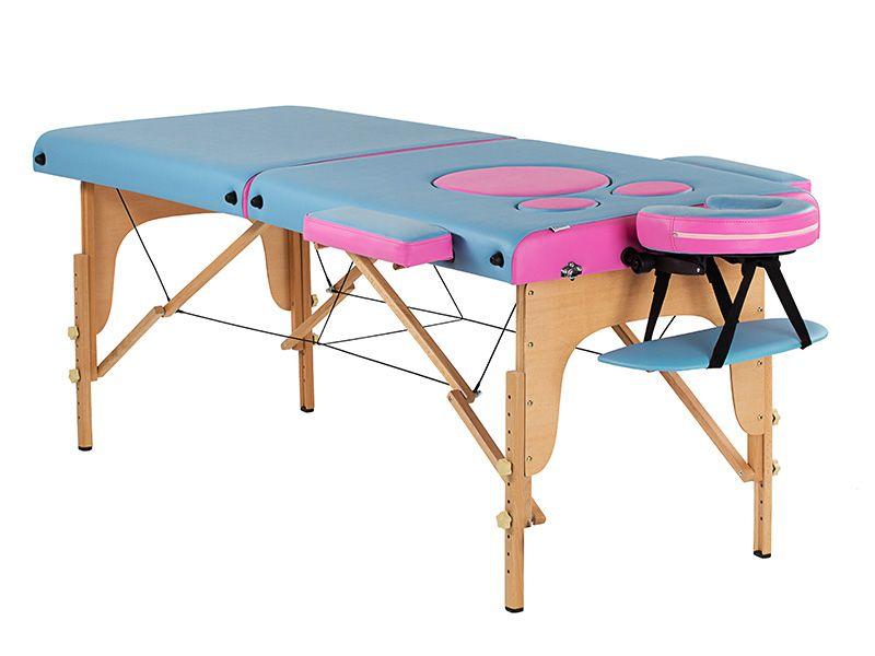 Складной массажный стол для бременных US MEDICA Panda