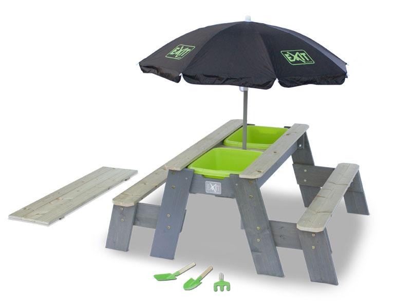 Песочница-трансформер Exit Toys Акцент с зонтом на высоких ножках фото