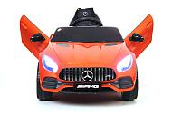 Электромобиль RiverToys MERCEDES-BENZ AMG GT O008OO Оранжевый
